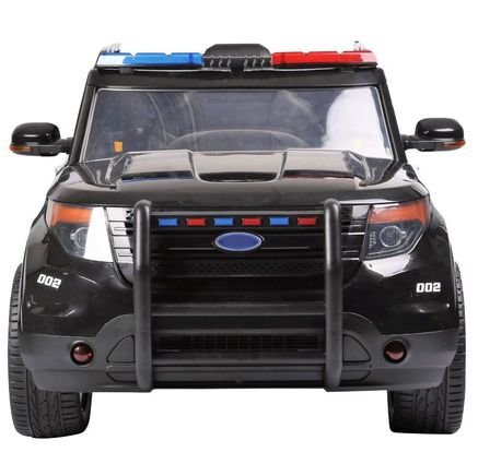 Электромобиль Ford Police (полицейский, кожа, резина, пульт, музыка, рация)