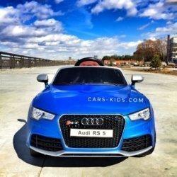 Электромобиль Audi RS5 синий