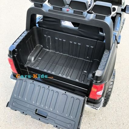 Электромобиль Toyota Tundra Mini (двухместный, колеса резина, кресло кожа, пульт, музыка)