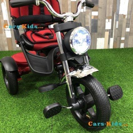 Велосипед CHOPPER TRIKE красный (фара со светом и звуком, трансформер)
